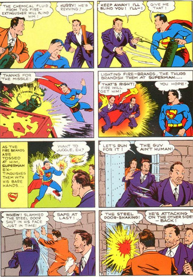 Superman femdom story