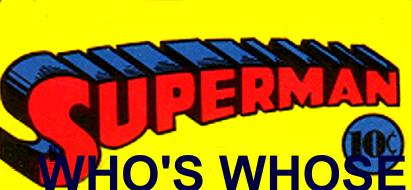 Superman Who's Whose File